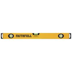 Faithfull 600mm Box Beam Spirit Level Milled Base FAISLB600