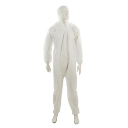 """Disposable Hooded Boiler Suit / Overall XL 136cm (54"""")"""