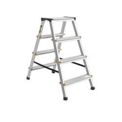 4 Tread Double Sided Aluminium Steps Drabest DD4150