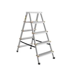 5 Tread Double Sided Aluminium Steps Drabest DD5150