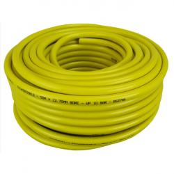 "Faithful 50M Yellow Heavy Duty Hose Pipe 1/2"" 12.5mm FAIHOSE50B12"