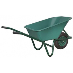 WB85 Sealey Wheel Barrow 85 Litre with Pneumatic Tyre
